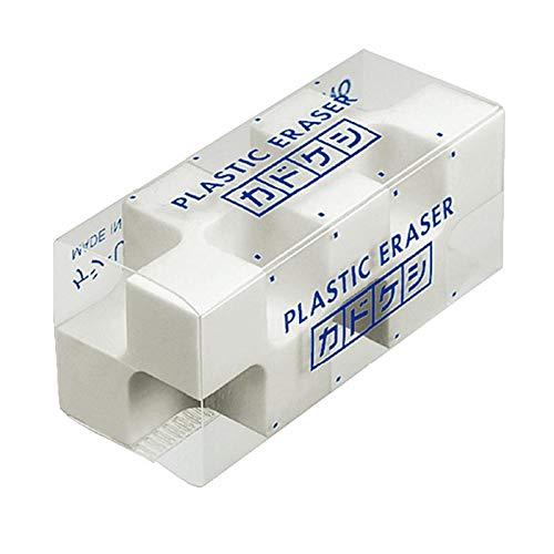 コクヨ 消しゴム「カドケシ」 スチレン系エラストマー樹脂 20x50x20mm [ケシ-U700N] 5個セット