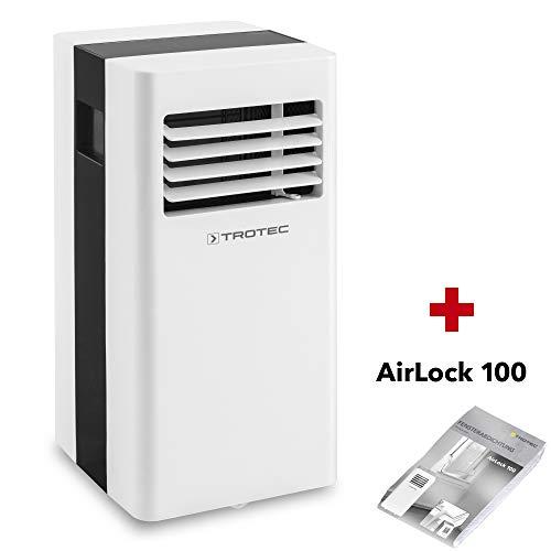 TROTEC Lokales Klimagerät PAC 2600 X mobile 2,6 kW Klimaanlage 3-in-1-Klimagerät inkl. Airlock 100