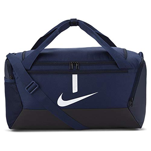 NIKE Unisex's Academy Team-Sp21 Sports Bag, Midnight Navy/Black/White, One Size