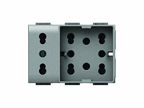 4Box 4B.NT.H21.XL Side Unika Compatibile con Bticino Livinglight, 250 V, Tech