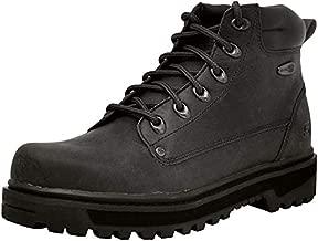 Skechers Men's Pilot Utility Boot,Black,10 WW US