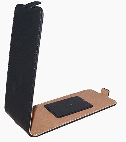 Handy Haft Tasche Hülle Flip für Wiko Bloom 2 - Fizz - Highway Pure - Selfy 4G - Sunset 2 - Schutz Hülle Handytasche Etui Schutzhülle