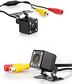 Rear View Camera Wide Angle Car Back Reverse Camera CCD 4 Led Night Vision Parking Assistance Camera