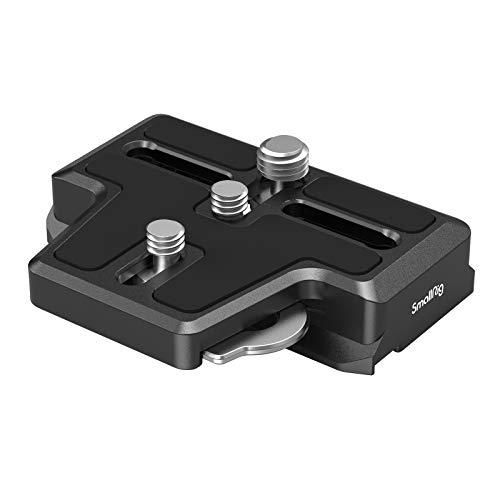 SMALLRIG Erweiterte Arca-Type Quick Release Plate Schnellwechselplatte für DJI RS 2 & RSC 2-3162