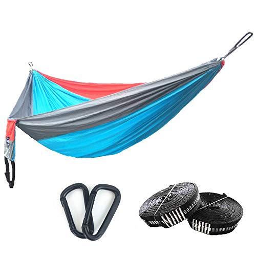 DLSMB-SP Camping hangmat Outdoor Leisure Singola Camping oscillatie Portable Hammock Outdoor Hammock Parachutebescherming Hammock