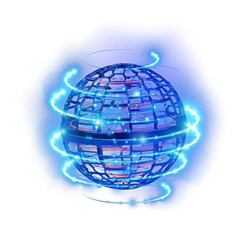 WZLOVE Flynova 2021 Pro Flying Spinner, UFO-Flugspielzeug, induktives Bewegungsflugzeug, Upgrade Flight Gyro Spielzeug, für Kinder, Erwachsene, Multiplayer-Entertainment-Team