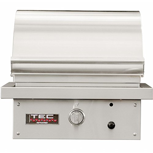 TEC Sterling Patio 1 FR Infrared Built-in Grill (STPFR1NT), Natural Gas