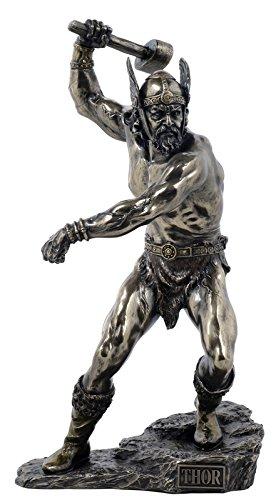 Thor, el esquí nórdico del trueno-dios - Bronce - Figuras