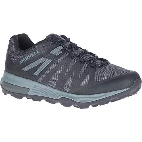 Merrell Zion FST Zapatillas de correr para hombre, Negro (Negro/Carbón), 41 EU