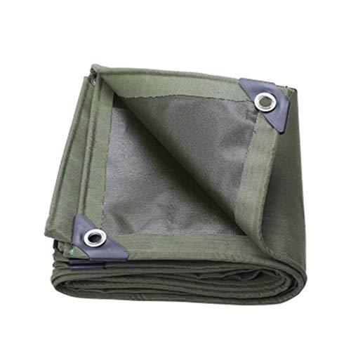 FEE-ZC Bâche imperméable à l'eau en Plein air, Tissu épais, Protection Solaire, auvent, bâche en Tissu, Toile Chaude (Couleur: Vert, Taille: 2 * 3 m)