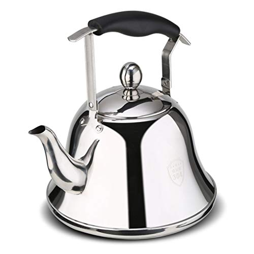 LCFF Bouilloire maison cuisine 304 acier inoxydable cuisinière à induction gaz générale sifflet bouilloire (taille : 3L)
