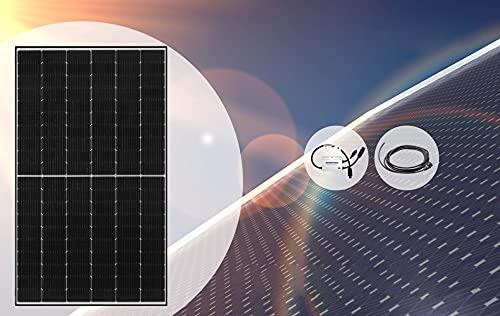 Home-Solar-Modul 360Wp (HSM360Wp + ohne Gestell + Anschlusskabel'Schuko' 10m)