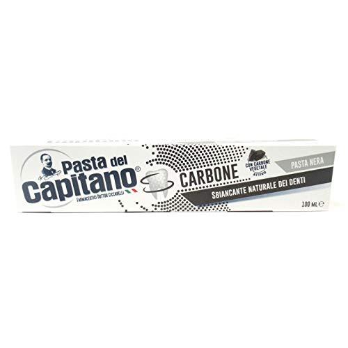 Pasta Del Capitano Dentifricio Carbone Attivo - Confezione Risparmio - 100 Ml