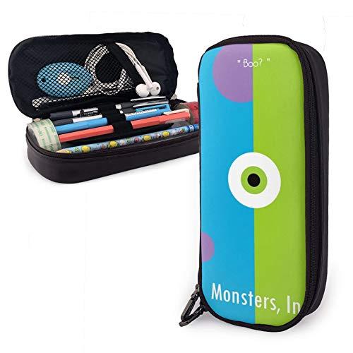 Monster University Stifteetui, große Kapazität, Stifteetui, Stifteetui, Stiftehalter, Schreibtisch-Aufbewahrungstasche, Schreibwaren-Tasche mit Reißverschluss, für Schule und Büro