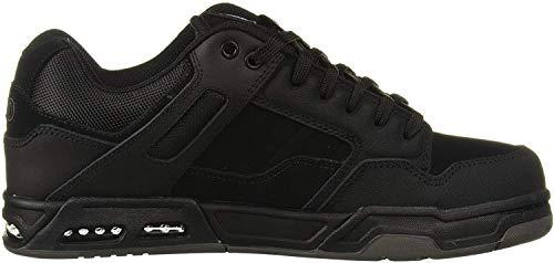 DVS Herren Enduro Heir, Black Black Leather, 38.5 EU