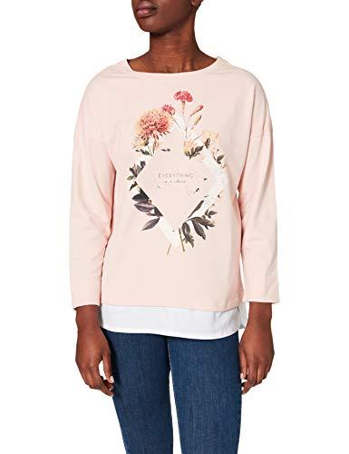 Springfield Sudadera Everything Flores Silvestres, Rosa, L para Mujer