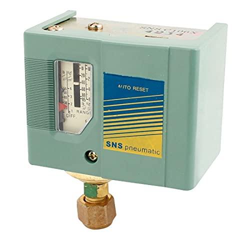 Neigei Pieza del compresor de Aire SNS -106 Interruptor de 1 Puerto Agua Compresor de Aire Válvula de presión de Aire