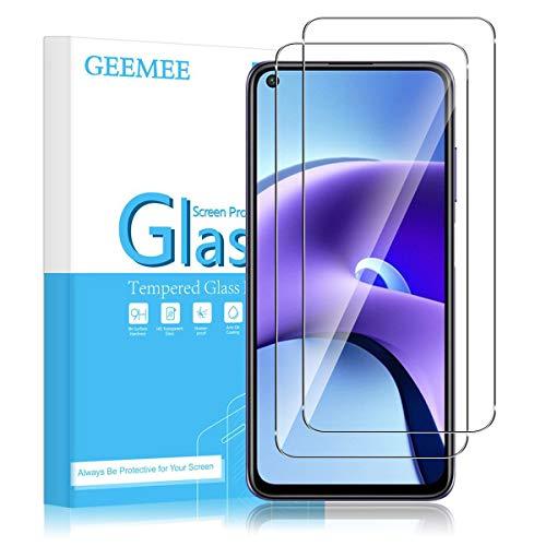 GEEMEE Pellicola Vetro Temperato per Xiaomi Redmi Note 9T, 2 Pack 9H Protezione Schermo, Anti Graffi HD Trasparenza Protettiva Screen Protector -Transparente
