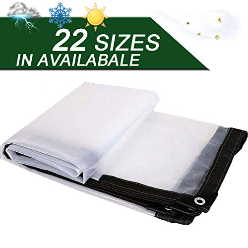 NaDrn Tarps to Cover the Sun and Rain, Tarps Heavy Duty Waterproof Tarpaulin w/Stainless Eyelets Foldable Tear Resistant Tarp Ground Sheet Covers for Roof, Camping, Outdoor, Patio,2x3m/6.5x10ft