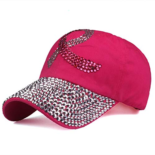Gorra de Beisbol Gorras De Béisbol Hombres Y Mujeres El Gorro De Algodón Ajustable Rhinestone Denim Cap Hat