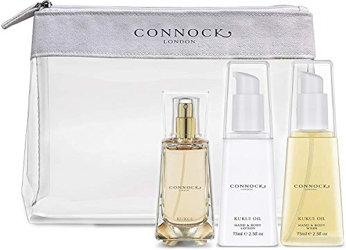 Connocks Fragrance Damen Connock London Kukui Oil Travel Collection Reiseset, opacity, Clear, Einheitsgröße