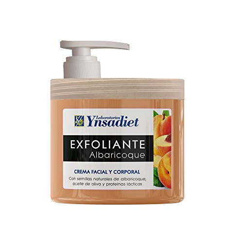 Exfoliante Facial y Corporal de Albaricoque| Regenerador de Piel| Anti-edad| Limpieza Profunda de Poros e Impurezas| Anti-arrugas| Piel Más Sana y Suave| 125 ml