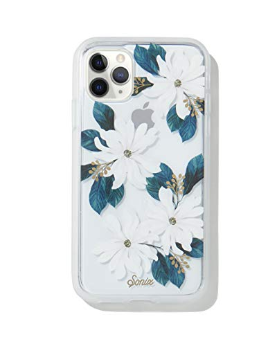 Sonix Delilah Flower Case for iPhone 11 Pro [Military Drop Test Certified] Protective White Floral Clear Case for Apple iPhone X, iPhone Xs, iPhone 11 Pro