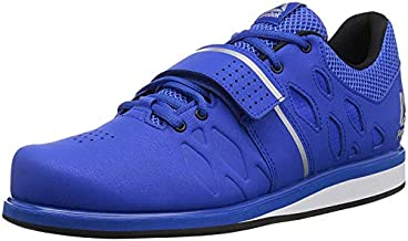 Reebok Men's Lifter PR Weightlifting and Gym Shoes, Vital Blue/Black, 7 M US