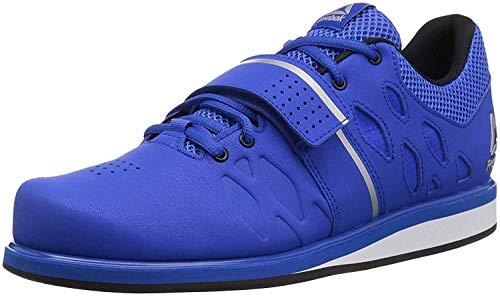 Reebok Men's Lifter PR Weightlifting and Gym Shoes, Vital Blue/Black, 7 M US