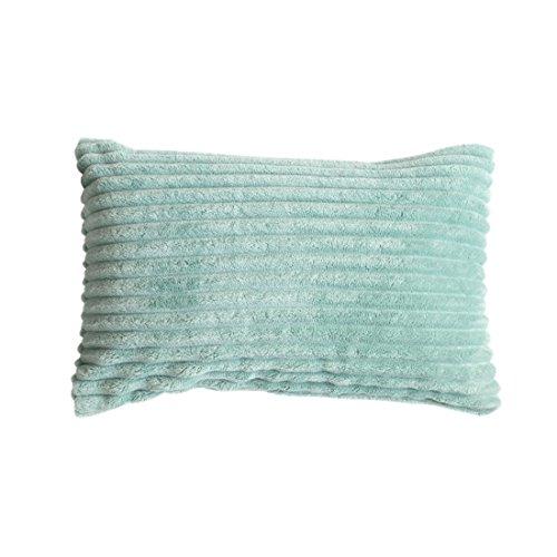 Ancdream Ultra Soft Comfy flanel stof decoratieve kussensloop kussensloop, 18 x 18 inch zonder kusseninvoer.