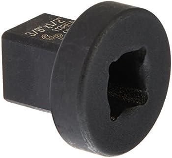 Grey Pneumatic 3/8 x 1/2 Inch Reducing Sleeve Socket Adapter