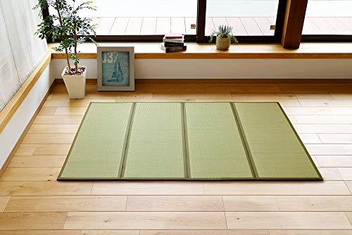 "MIINA Japanese Traditional Igusa (Rush Grass) Tatami Mattress, Japanese futon mattres, Floor Mattress (Twin, Natural) 39"" x 78"""