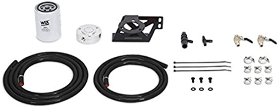 Mishimoto MMCFK-F2D-08BK Coolant Filter Kit Compatible With Ford 6.4L Powerstroke 2008-2010 Black