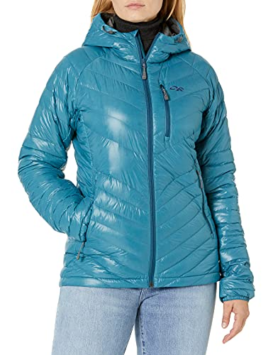 Outdoor Research Women's Illuminate Down Hoody, Washed Peacock, Small