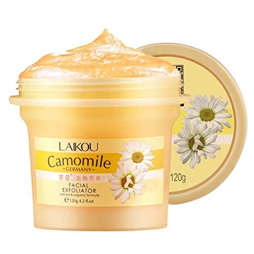 Yue668 - Limpiador exfoliante, crema exfoliante, exfoliante, blanqueador facial, gel exfoliante para el exfoliante facial
