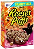 Travis Scott X Reeses Puffs Cereal Limited Edition Family Size 20.07oz