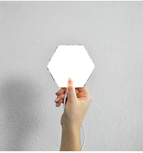 Night Max 67% OFF Light Touch Sensor Led Phoenix Mall Hexagon Lights Ma
