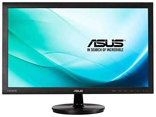 "Asus VS247HR - Monitor de 23.6"" (1920x1080, 2 ms, HDMI, D-Sub, DVI-D, 16:9, 75 Hz, panel LCD), color negro"
