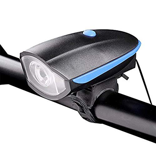 Lista Rechargeable Bike Horn And Light 140 DB with Super Bright 250 Lumen Light 3 Modes