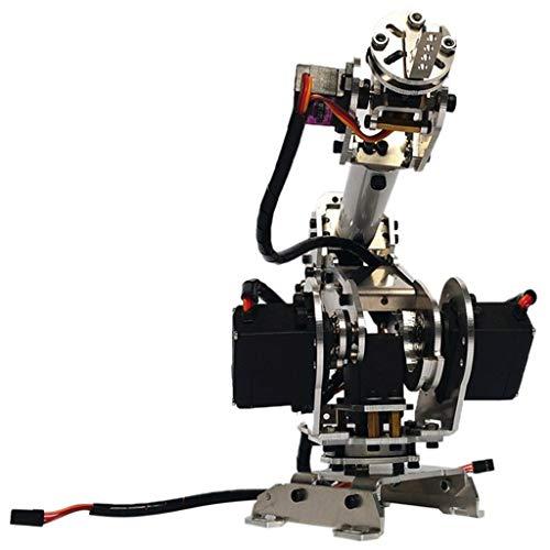 Fenteer DIY 6DOF RC Roboterarm Roboter Griff Mechanischer Arm Kit mit 6 Servos für...