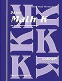 Saxon Math K Homeschool KIT