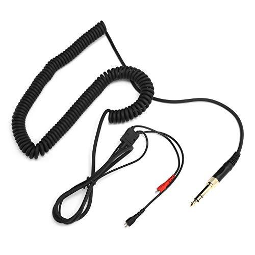 Vipxyc Cable en Espiral para Auriculares con Adaptador 4.9ft ~ 19.7ft de Alta Resistencia a la corrosión