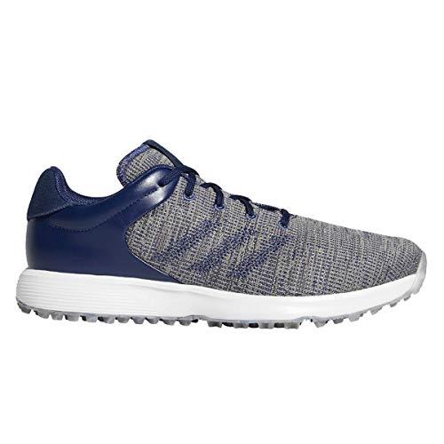 adidas S2G - Zapatos de golf para hombre (talla M), color negro