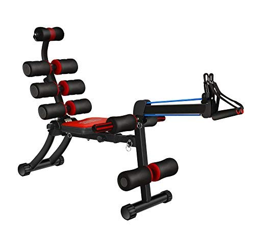 SYOSIN 22 in 1 Sit-Up Exerciser Ab Machine Workout Fitness Equipment Home Gym with Rowing Machine Compatible Men Women (1)