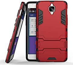 Oneplus 3/3T Hybrid Armor Protective Case Housing ShockProof Cover -Red