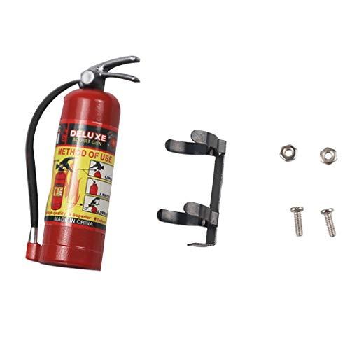 1:10 Decoratieve brandblusser Modelvervanging voor axiale RC-auto, 1:10 decoratieve SCX10 TRX4 RC Crawler-speelgoedaccessoires