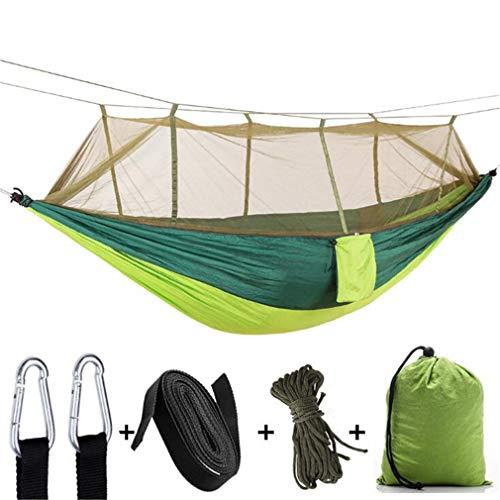 Yeucan Camping Zelt Plane Shelter Große Hängematte Leichte Plane Nylon Outdoor Picknickzubehör,Armeegrün