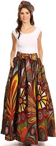 African maxi skirt _image1