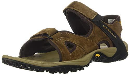 Merrell Men's Kahuna 4 Strap Hiking Sandal, Brown – 12 Medium