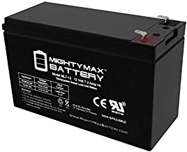 Mighty Max Battery ML7-12 - 12V 7.2AH Cyclops Spotlight CY-0112 Battery Replacement Brand Product